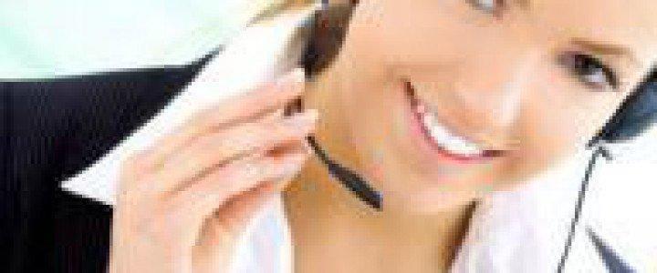 Curso gratis Guía básica de la atención telefónica al cliente online para trabajadores y empresas