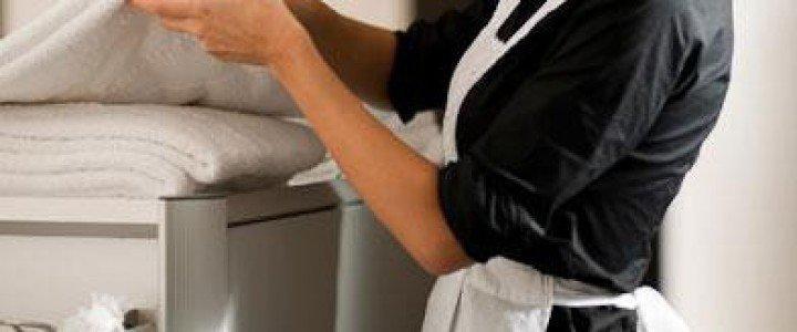Curso gratis HOTA0108 Operaciones Básicas de Pisos de Alojamientos online para trabajadores y empresas