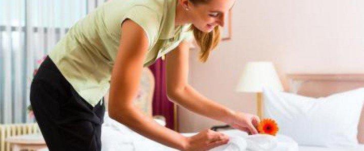 Curso gratis HOTA0208 Gestión de Pisos y Limpieza en Alojamientos online para trabajadores y empresas