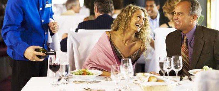 Curso gratis HOTR0608 Servicios de Restaurante online para trabajadores y empresas