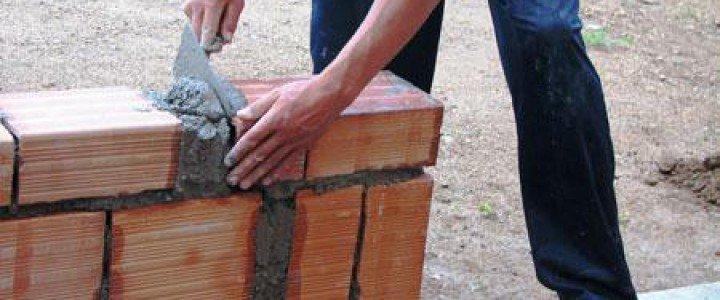 Curso gratis Albañil-Sector Obras online para trabajadores y empresas