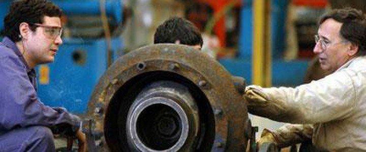 Curso gratis IMAQ0108 Mantenimiento y Montaje Mecánico de Equipo Industrial online para trabajadores y empresas