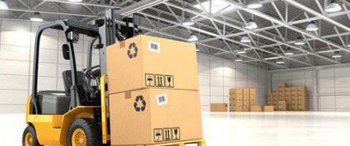 Manipulación de cargas con carretillas elevadoras. COML0110 - Actividades auxiliares de almacén