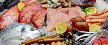 Manipulador de alimentos: productos del mar