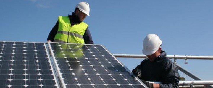Curso gratis Mantenimiento de instalaciones solares fotovoltaicas. ENAE0108 - Montaje y Mantenimiento de Instalaciones Solares Fotovoltaicas online para trabajadores y empresas