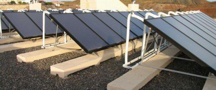 Curso gratis Mantenimiento de instalaciones solares térmicas. ENAE0208 - Montaje y Mantenimiento de Instalaciones Solares Térmicas online para trabajadores y empresas