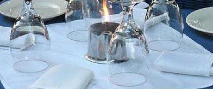 Curso gratis Aprovisionamiento y montaje para servicios de catering. HOTR0308 - Operaciones básicas de catering online para trabajadores y empresas