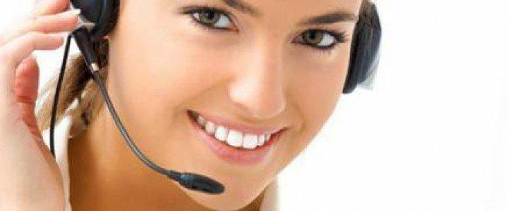 Curso gratis MF0264_3 Recepción y Atención al Cliente online para trabajadores y empresas