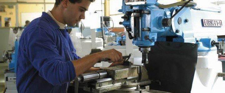 Curso gratis MF0593_3 Procesos de Mecanizado en Fabricación Mecánica online para trabajadores y empresas