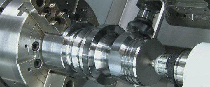Curso gratis MF0596_3 Control Numérico Computerizado en Mecanizado y Conformado Mecánico online para trabajadores y empresas