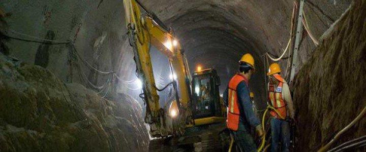 Curso gratis MF0864_2 Prevención de Riesgos en Excavaciones Subterráneas online para trabajadores y empresas