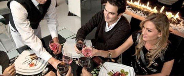 Curso gratis MF1052_2 Servicio en Restaurante online para trabajadores y empresas