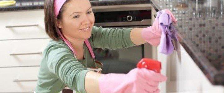 Curso gratis MF1330_1 Limpieza Doméstica online para trabajadores y empresas