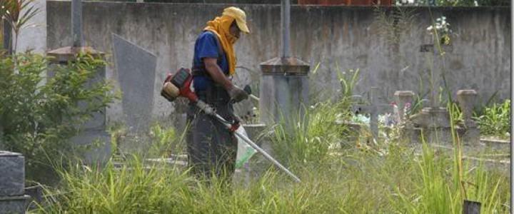 Curso gratis MF2007_1 Limpieza de Cementerios online para trabajadores y empresas