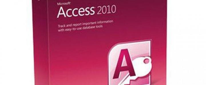 Curso gratis Microsoft Access 2010 online para trabajadores y empresas