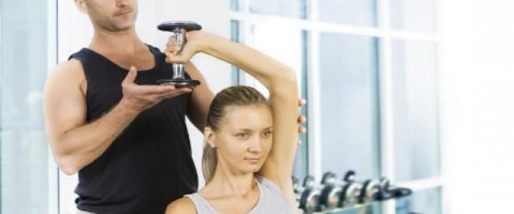 Curso gratis Monitor de Musculación y Fitness online para trabajadores y empresas