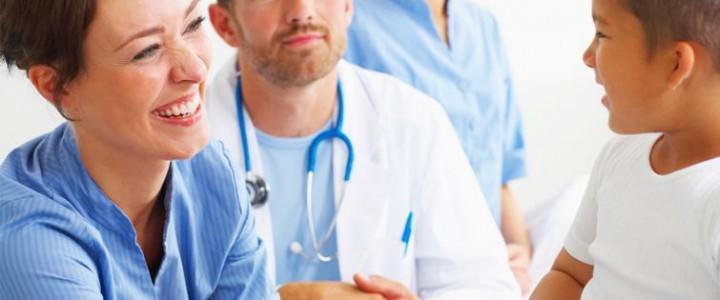 Curso gratis Auxiliar de Pediatría online para trabajadores y empresas