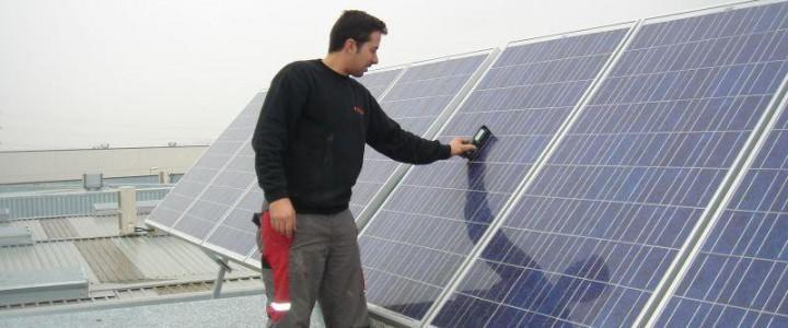 Montaje mecánico en instalaciones solares fotovoltaica . ENAE0108 - Montaje y Mantenimiento de Instalaciones Solares Fotovoltaicas