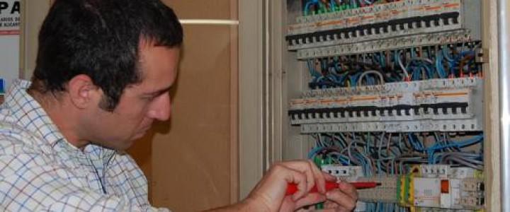 Curso gratis Montaje y mantenimiento de instalaciones eléctricas de baja tensión en edificios de viviendas. ELEE0109 - Montaje y mantenimiento de instalaciones eléctricas de baja tensión online para trabajadores y empresas