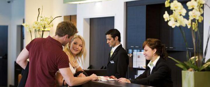Curso gratis Organización y prestación del servicio de recepción en alojamientos. HOTA0308 - Recepción en alojamientos online para trabajadores y empresas