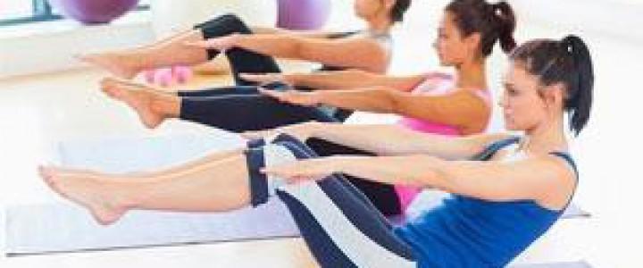 Curso gratis Postgrado de Monitor de Pilates Terapéutico online para trabajadores y empresas