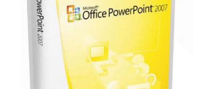 Curso gratis PowerPoint 2007 online para trabajadores y empresas