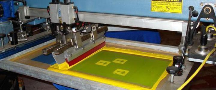 Curso gratis Preparación de la impresión en serigrafía. ARGI0310 - Impresión en serigrafía y tampografía online para trabajadores y empresas