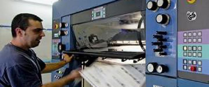 Curso gratis Preparación y regulación de los sistemas de alimentación en máquinas de impresión offset. ARGI0109 - Impresión en offset online para trabajadores y empresas