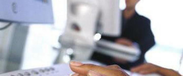 Curso gratis Técnicas Administrativas Básicas de Oficina online para trabajadores y empresas