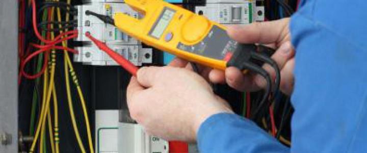 Curso gratis Técnico de Mantenimiento. Especialidad Electricidad online para trabajadores y empresas