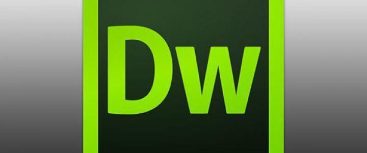 Curso gratis Certificación IT en Adobe Dreamweaver CC 2015 online para trabajadores y empresas