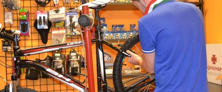 UF0299 Mantenimiento, Reparación y Traslado de Bicicletas