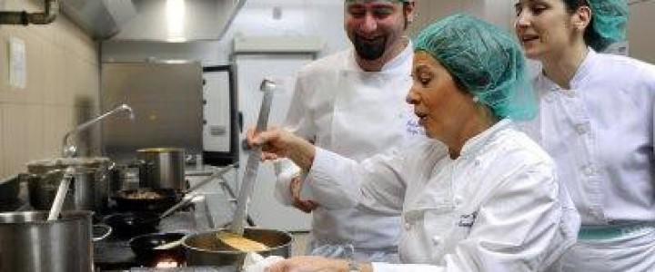 Curso gratis Cocina hospitalaria online para trabajadores y empresas