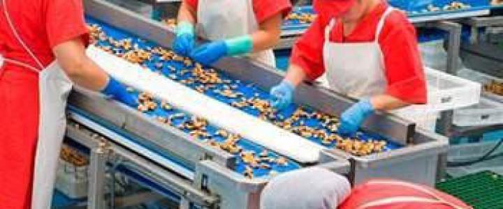Curso gratis UF0698 Manejo de Instalaciones para la Elaboración de Productos Alimentarios online para trabajadores y empresas