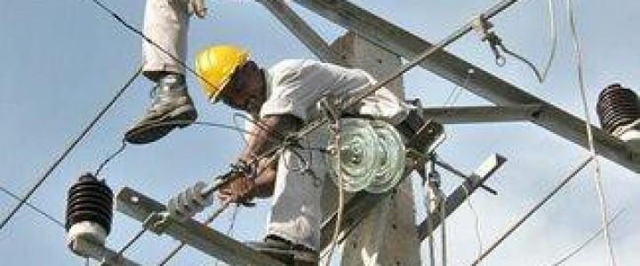 Curso gratis UF0996 Mantenimiento de Redes Eléctricas Subterráneas de Alta Tensión online para trabajadores y empresas