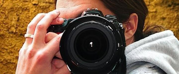 Curso gratis UF1207 Captación Fotográfica online para trabajadores y empresas