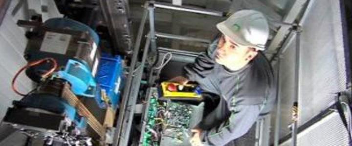 Curso gratis UF1477 Prevención de Riesgos Laborales y Medioambientales en la Instalación y Mantenimiento de Ascensores y otros Equipos Fijos de Elevación y Transporte online para trabajadores y empresas