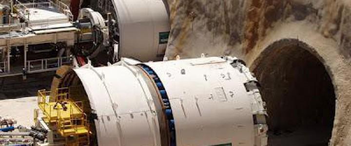 Curso gratis UF1581 Operaciones de Puesta en Marcha y Protocolos de la Tuneladora de Rocas online para trabajadores y empresas