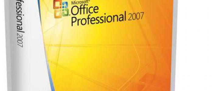 Curso gratis Conocimientos Ofimáticos Avanzados-Office 2007 online para trabajadores y empresas
