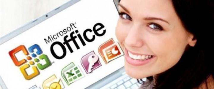 Curso gratis Conocimientos Ofimáticos Avanzados-Office 2010 online para trabajadores y empresas