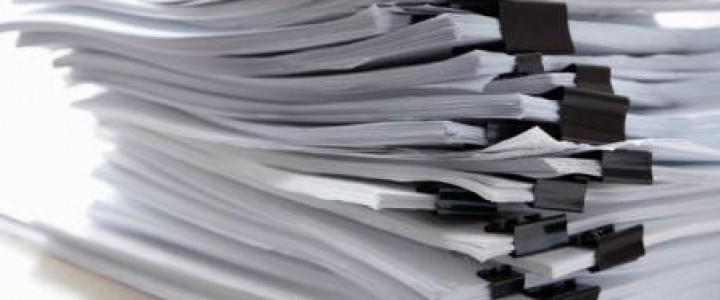 Curso gratis UF1871 Elaboración de la Documentación Técnica online para trabajadores y empresas