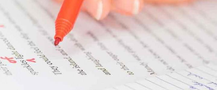 Curso gratis UF1902 Corrección de Textos online para trabajadores y empresas