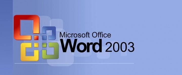 Curso gratis Word 2003 online para trabajadores y empresas