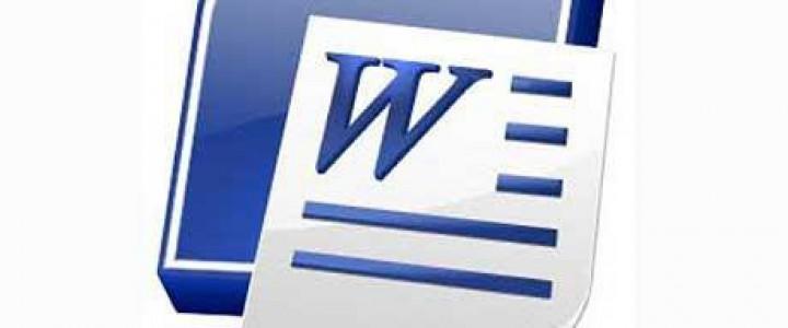 Curso gratis Word 2007 online para trabajadores y empresas
