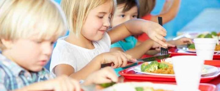 Curso gratis de Nutrición en Educación Primaria online para trabajadores y empresas