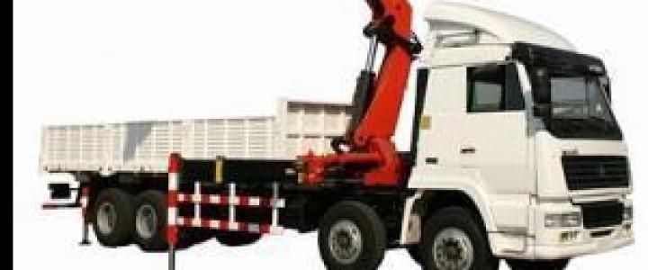 Curso gratis de Operador de Camión-Pluma online para trabajadores y empresas