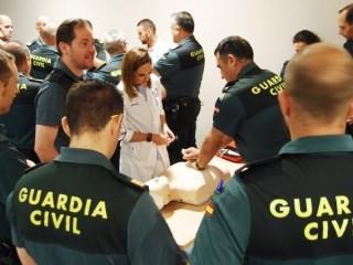 Curso Práctico de Primeros Auxilios para Guardias Civiles