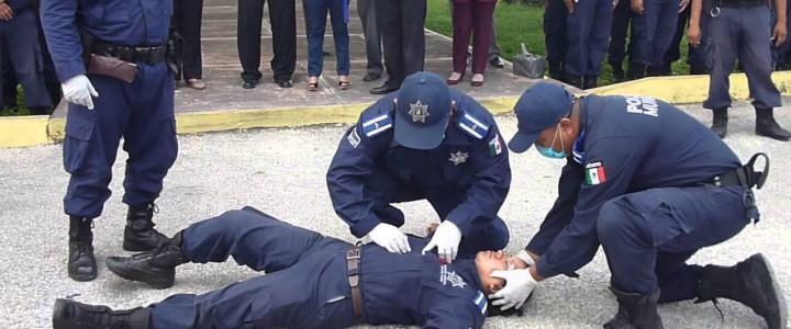 Curso gratis Práctico de Primeros Auxilios para Policías Nacionales online para trabajadores y empresas