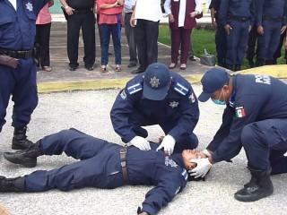 Curso Práctico de Primeros Auxilios para Policías Nacionales