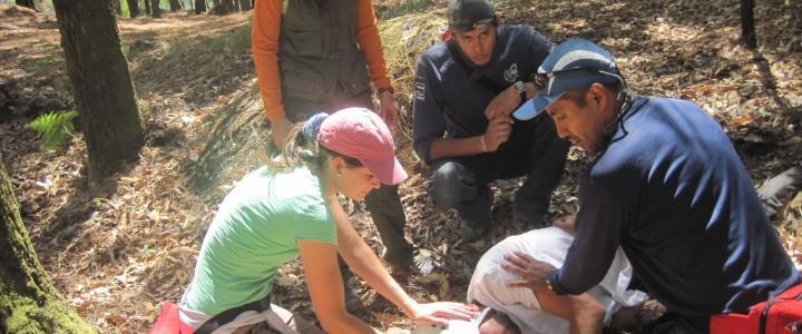 Curso gratis Práctico de Primeros Auxilios para Excursionistas online para trabajadores y empresas